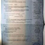 Приложение к диплому Жанна Абрамова